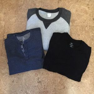 Men's Longsleeve Shirts by George and Haband 2M 1L